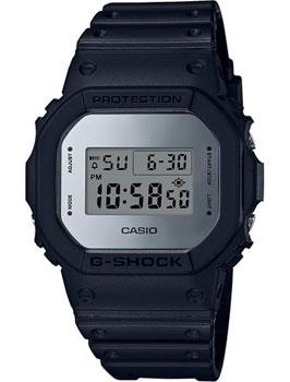 Японские наручные мужские часы Casio DW-5600BBMA-1E. Коллекция G-Shock фото