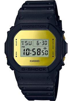 Японские наручные  мужские часы Casio DW-5600BBMB-1E. Коллекция G-Shock