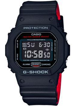 Японские наручные  мужские часы Casio DW-5600HR-1E. Коллекция G-Shock