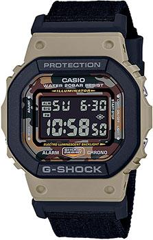 Японские наручные  мужские часы Casio DW-5610SUS-5ER. Коллекция G-Shock