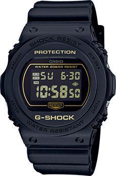 Японские наручные  мужские часы Casio DW-5700BBM-1ER. Коллекция G-Shock