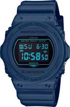 Японские наручные  мужские часы Casio DW-5700BBM-2ER. Коллекция G-Shock