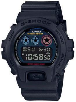Японские наручные мужские часы Casio DW-6900BMC-1ER. Коллекция G-Shock фото