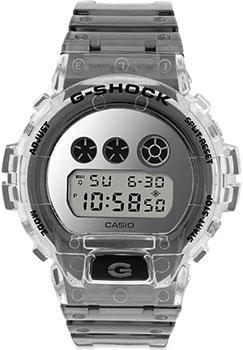 Японские наручные мужские часы Casio DW-6900SK-1ER. Коллекция G-Shock фото