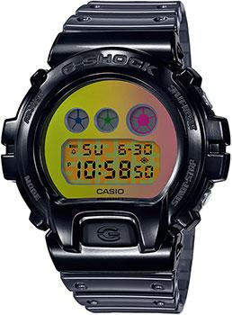 Японские наручные  мужские часы Casio DW-6900SP-1ER. Коллекция G-Shock