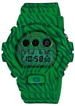 Японские наручные  мужские часы Casio DW-6900ZB-3E. Коллекция G-Shock