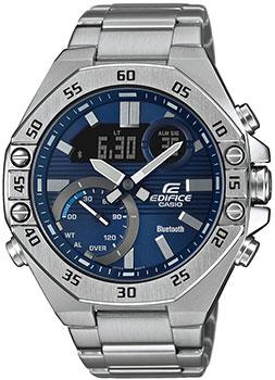 Японские наручные  мужские часы Casio ECB-10D-2AEF. Коллекция Edifice