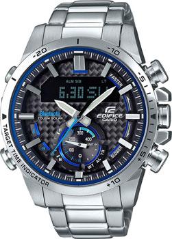 Японские наручные  мужские часы Casio ECB-800D-1AEF. Коллекция Edifice