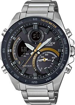 Японские наручные  мужские часы Casio ECB-900DB-1CER. Коллекция Edifice