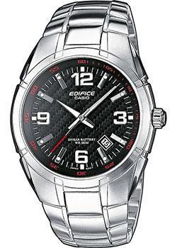 Японские наручные мужские часы Casio EF-125D-1A. Коллекция Edifice фото