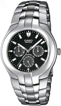Японские наручные мужские часы Casio EF-304D-1A. Коллекция Edifice