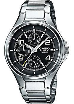 Японские наручные  мужские часы Casio EF-316D-1A. Коллекция Edifice