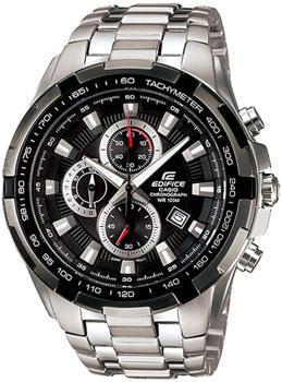 Японские наручные  мужские часы Casio EF-539D-1A. Коллекция Edifice