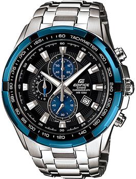 Японские наручные  мужские часы Casio EF-539D-1A2. Коллекция Edifice