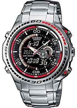 Японские наручные  мужские часы Casio EFA-121D-1A. Коллекция Edifice