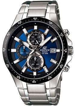 Японские наручные  мужские часы Casio EFR-519D-2A. Коллекция Edifice