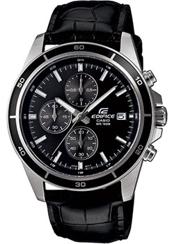 Японские наручные  мужские часы Casio EFR-526L-1A. Коллекция Edifice