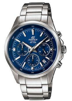 Японские наручные  мужские часы Casio EFR-527D-2A. Коллекция Edifice