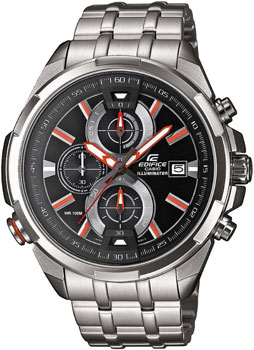 Купить Японские наручные мужские часы Casio EFR-536D-1A4. Коллекция Edifice