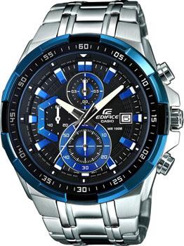 Японские наручные  мужские часы Casio EFR-539D-1A2. Коллекция Edifice