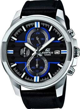 Японские наручные  мужские часы Casio EFR-543L-1A. Коллекци Edifice
