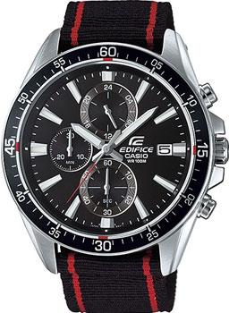Японские наручные  мужские часы Casio EFR-546C-1A. Коллекция Edifice