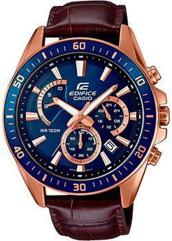 Японские наручные  мужские часы Casio EFR-552GL-2A. Коллекция Edifice