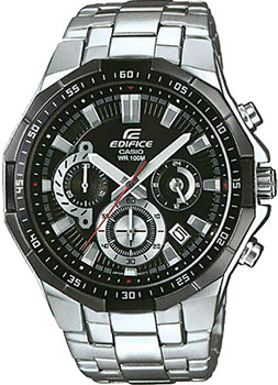 Японские наручные  мужские часы Casio EFR-554D-1A. Коллекция Edifice