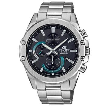 Японские наручные мужские часы Casio EFR-S567D-1AVUEF. Коллекция Edifice фото