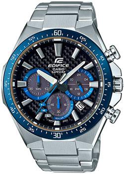 Японские наручные  мужские часы Casio EFS-S520CDB-1B. Коллекция Edifice