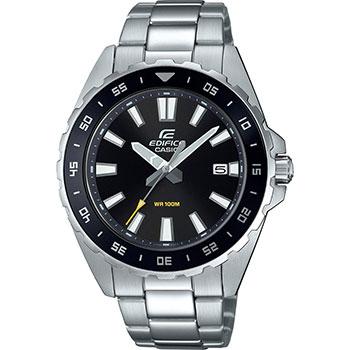 Японские наручные  мужские часы Casio EFV-130D-1AVUEF. Коллекция Edifice