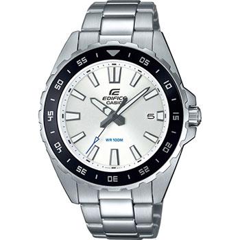 Японские наручные мужские часы Casio EFV-130D-7AVUEF. Коллекция Edifice фото