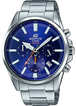 Купить Японские наручные мужские часы Casio EFV-510D-2A. Коллекция Edifice