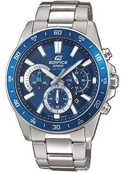 Японские наручные  мужские часы Casio EFV-570D-2AVUEF. Коллекция Edifice