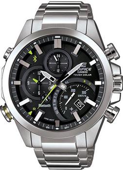 Японские наручные мужские часы Casio EQB-500D-1A. Коллекция Edifice