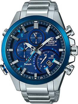 Японские наручные  мужские часы Casio EQB-501DB-2A. Коллекция Edifice