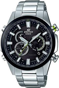 Японские наручные  мужские часы Casio EQW-T640DB-1A. Коллекция Edifice от Bestwatch.ru