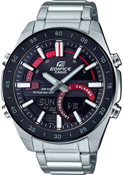 Японские наручные  мужские часы Casio ERA-120DB-1AVEF. Коллекция Edifice