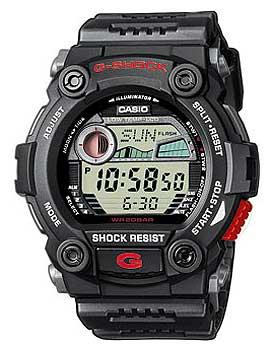 Японские наручные  мужские часы Casio G-7900-1E. Коллекция G-Shock.