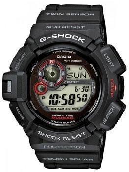 Японские наручные мужские часы Casio G-9300-1E. Коллекция G-Shock фото