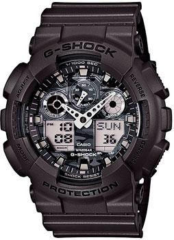 Casio Часы Casio GA-100CF-8A. Коллекция G-Shock
