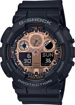 Японские наручные мужские часы Casio GA-100MMC-1AER. Коллекция G-Shock фото