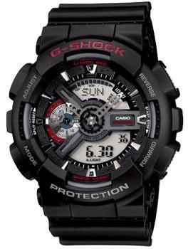 Casio Часы Casio GA-110-1A. Коллекция G-Shock