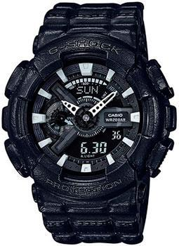 Японские наручные мужские часы Casio GA-110BT-1A. Коллекция G-Shock фото