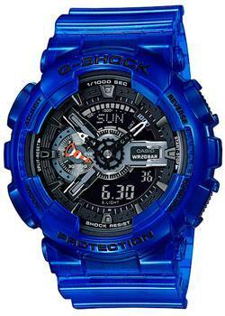 Японские наручные мужские часы Casio GA-110CR-2A. Коллекция G-Shock фото