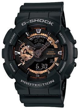 Casio Часы Casio GA-110RG-1A. Коллекция G-Shock