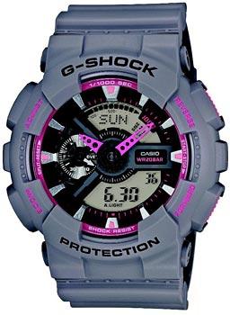 Casio Часы Casio GA-110TS-8A4. Коллекция G-Shock