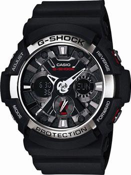 Японские наручные  мужские часы Casio GA-200-1A. Коллекция G-Shock