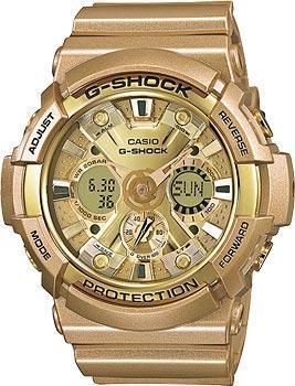 Японские наручные мужские часы Casio GA-200GD-9A. Коллекция G-Shock фото