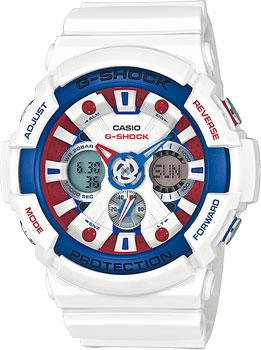 Японские наручные мужские часы Casio GA-201TR-7A. Коллекция G-Shock фото